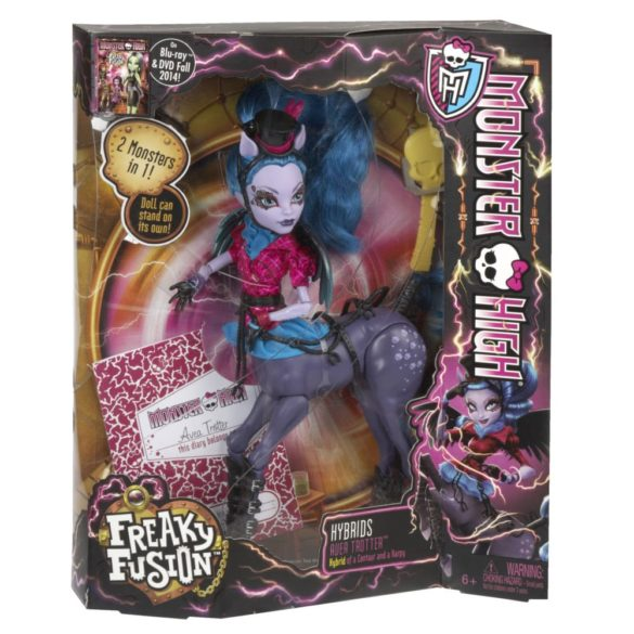 monster high freaky fusion papusa avea trotter 7