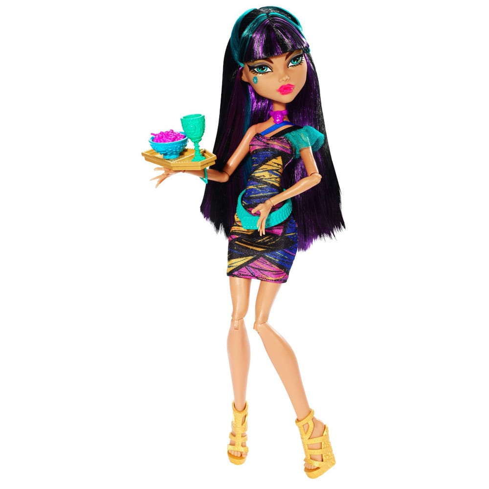 Monster High Papusa Cleo de Nile Creepateria