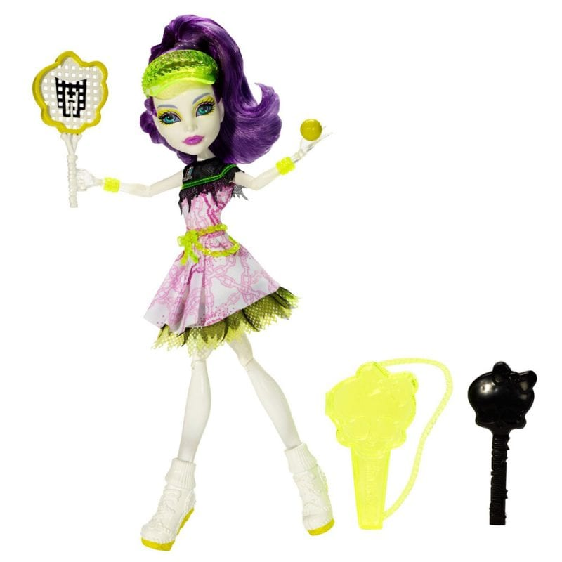 Monster High Colectia Ghoul Sports Papusa Spectra