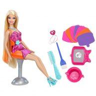 Papusa Barbie si accesorii pentru coafat - Blonda