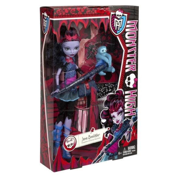 papusa monster high jane boolittle 4