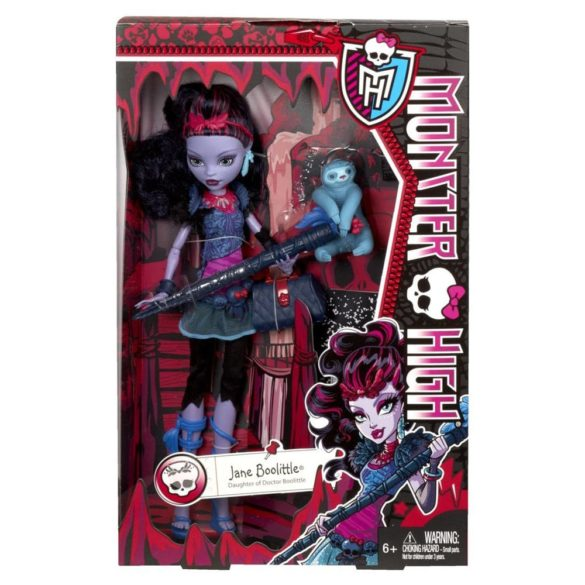 papusa monster high jane boolittle 5