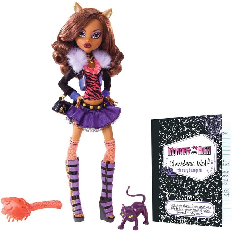 Papusi Originale Monster High Clawdeen Wolf