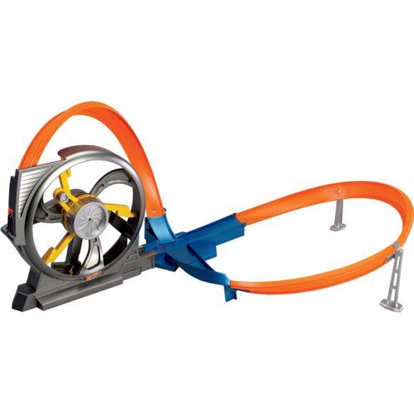 pista cu doua bucle hot wheels 1 1