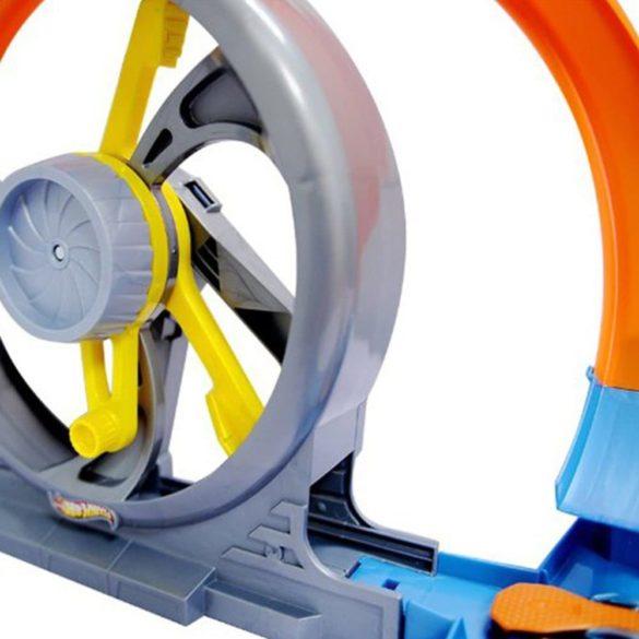 pista cu doua bucle hot wheels 4