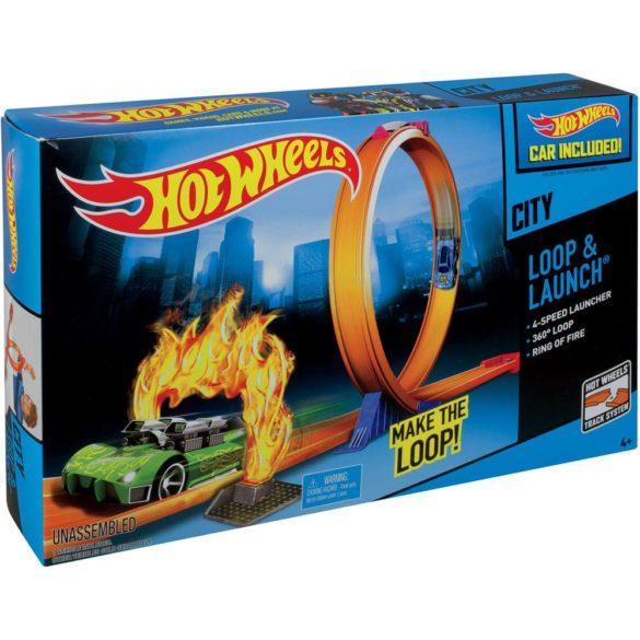pista hot wheels city bucla si lansare 2