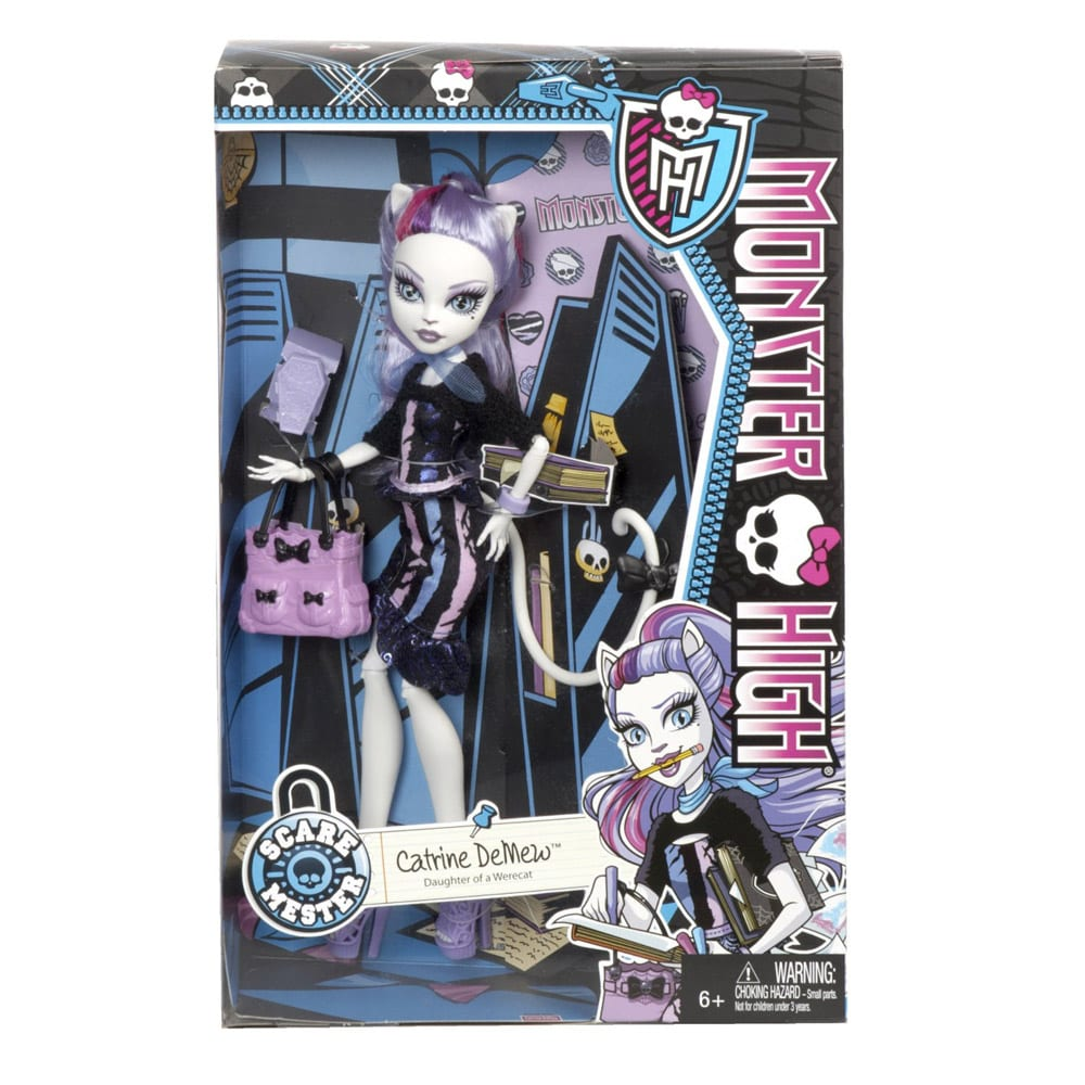 scaremester papusa catrine demew monster high totorelro