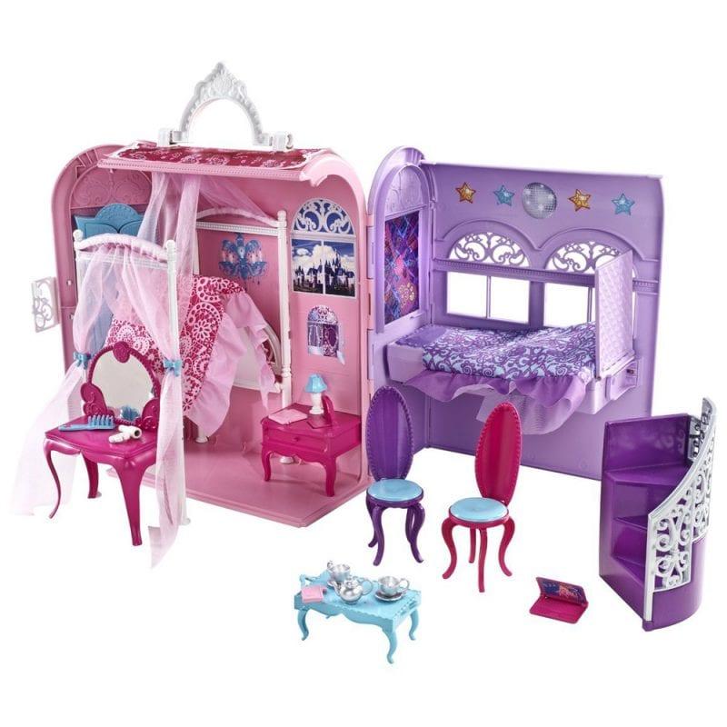 Set de Joaca Barbie Casa Pliabila