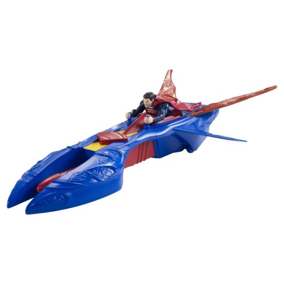 superman figurina si vehicul kryptonian interceptor 1