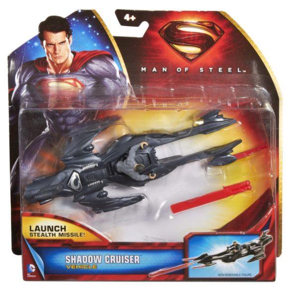 superman figurina si vehicul shadow cruiser 3