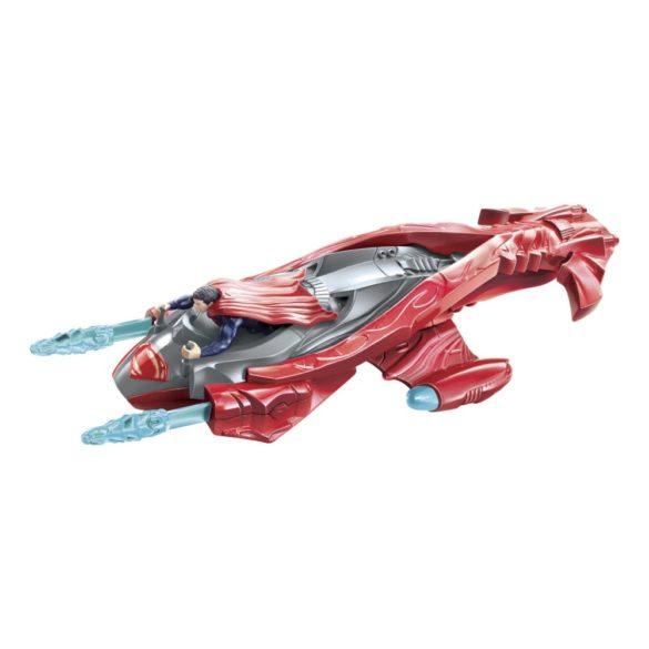 superman figurina si vehicul twin blaster jet 1