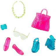 Accesorii Barbie New Street Style Albastru si Roz