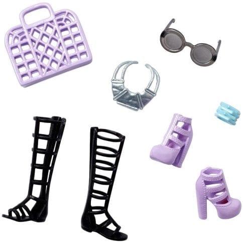 Accesorii Barbie New Street Style Negru si Violet