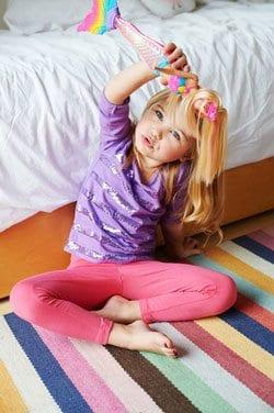 Barbie Papusa Sirena Curcubeu