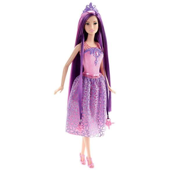 Barbie Regatul Parului fara Sfarsit Papusa Mov 2