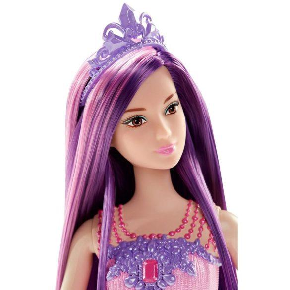 Barbie Regatul Parului fara Sfarsit Papusa Mov 4