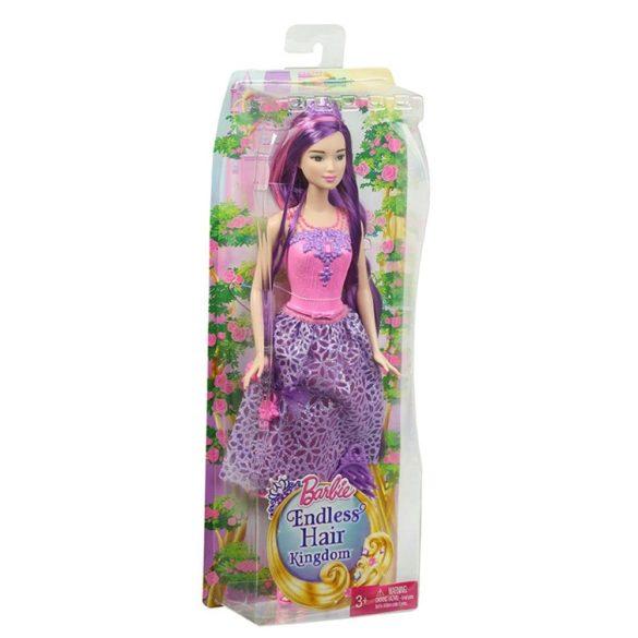 Barbie Regatul Parului fara Sfarsit Papusa Mov 5