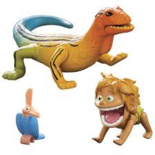Bunul Dinozaur Figurina Mica Spot si Lizard
