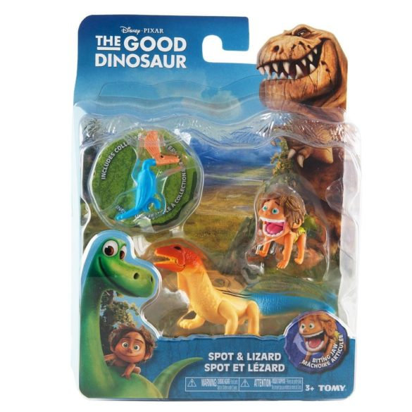 Bunul Dinozaur Figurina Mica Spot si Lizard 3