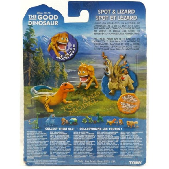 Bunul Dinozaur Figurina Mica Spot si Lizard 4