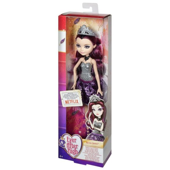 Ever After High Papusa Raven Queen 6