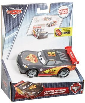 Masinuta Disney Cars Curba in Viteza Lightning McQueen