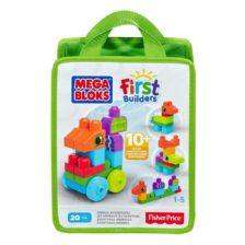 Mega Bloks Primele Cuburi de Construit Animale