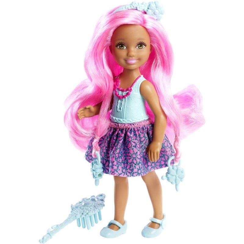 Barbie Regatul Parului fara Sfarsit Papusa Mica Albastra