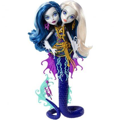 Monster High Marele Recif Papusa Peri & Pearl Serpentine