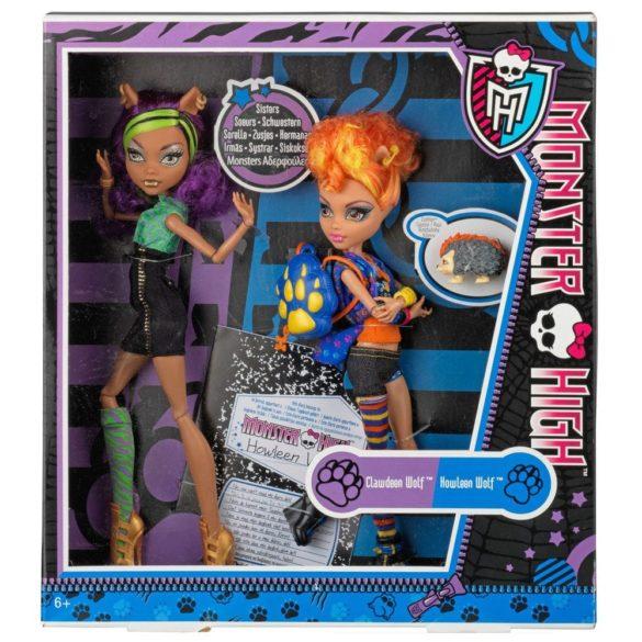 Monster High Set Papusi Howleen Wolf si Clawdeen Wolf 2