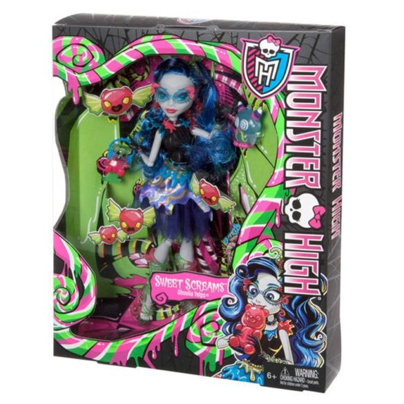 Monster High Sweet Screams Papusa Ghoulia Yelps 7