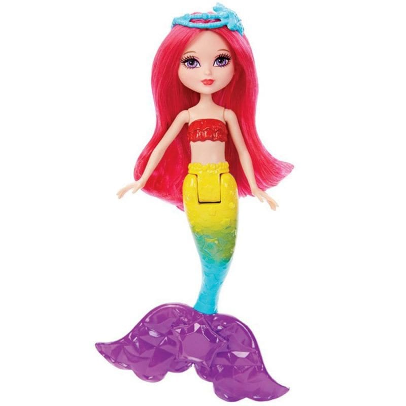 Papusa Barbie Mica Sirena a Curcubeului