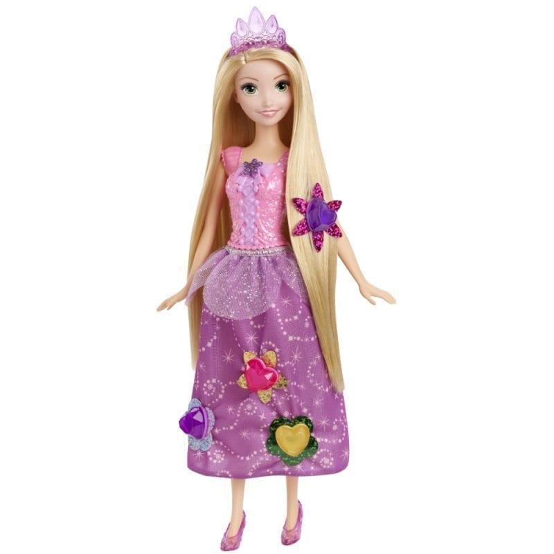 Papusa Rapunzel cu Parul lung si Accesorii
