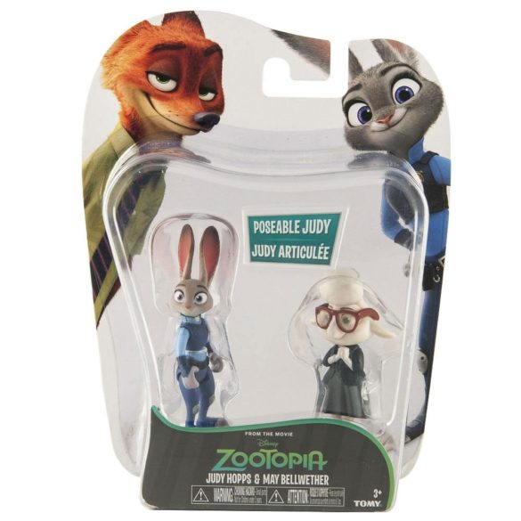 Zootropolis Set Figurine Judy Hopps si May Bellwether 2