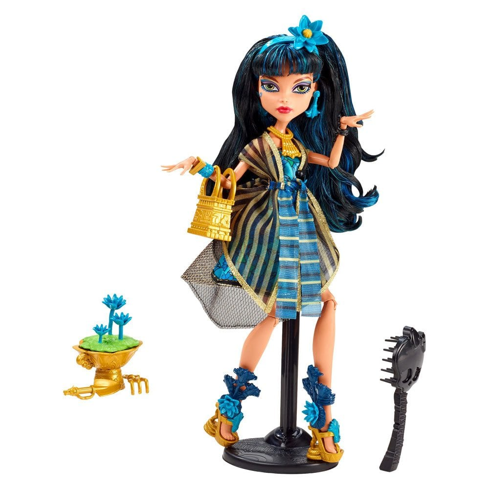 Monster High Gloom & Bloom Papusa Cleo de Nile