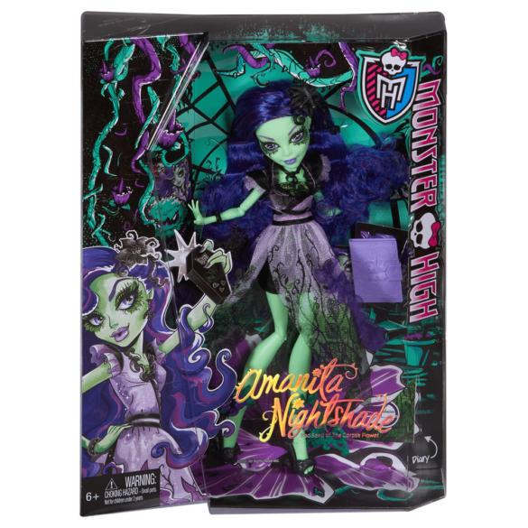 Monster High Papusa Amanita Nightshade 7
