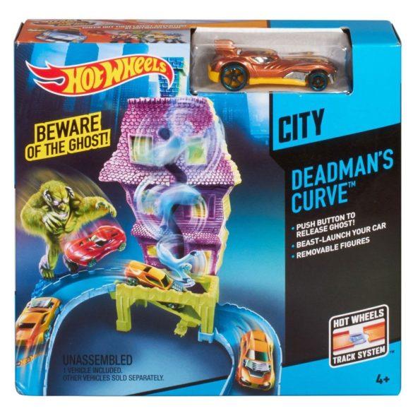 Pista Deadmans Curve Hot Wheels City 4