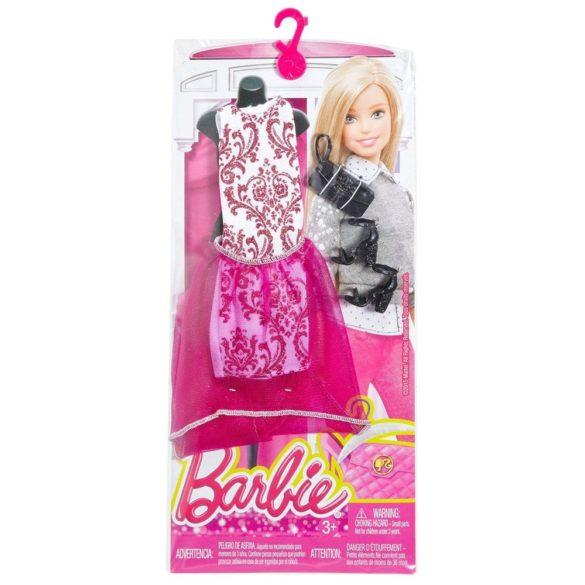Hainute si Accesorii Papusa Barbie Pachet Roz 2