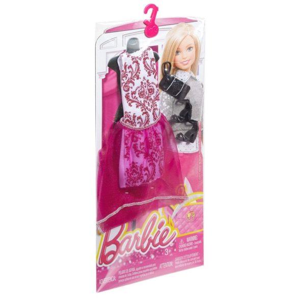 Hainute si Accesorii Papusa Barbie Pachet Roz 3