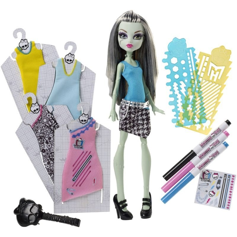 Papusa Frankie Monster High Set de Joaca