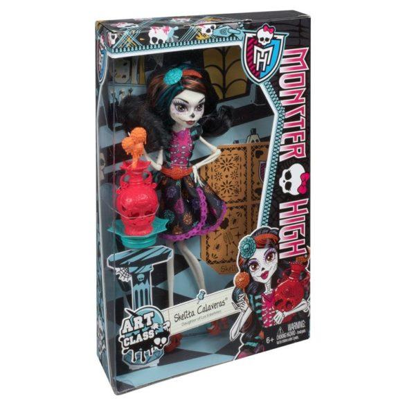 Papusa Skelita Monster High Ora de Arta 6