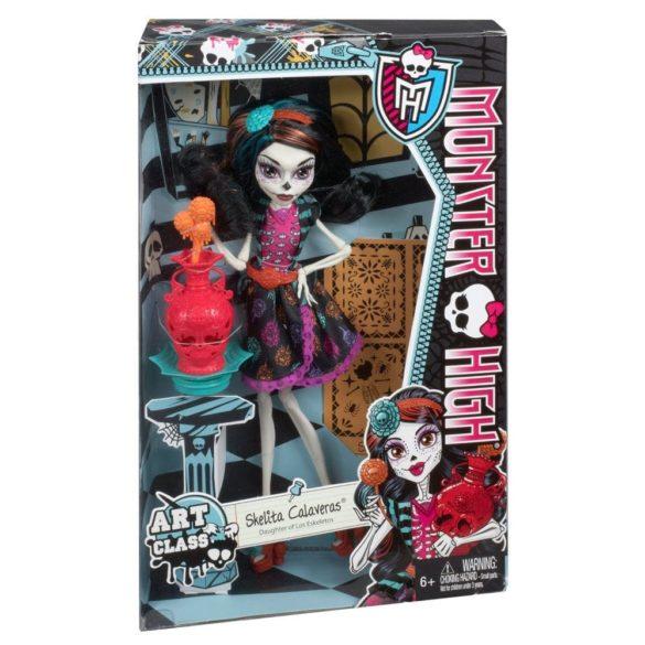 Papusa Skelita Monster High Ora de Arta 7