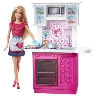 Papusa Barbie si Bucataria Uluitoare