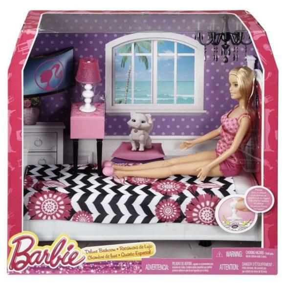 Papusa Barbie si Mobilier Dormitor 4