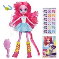 Papusa Pinkie Pie cu Perie de Par My Little Pony