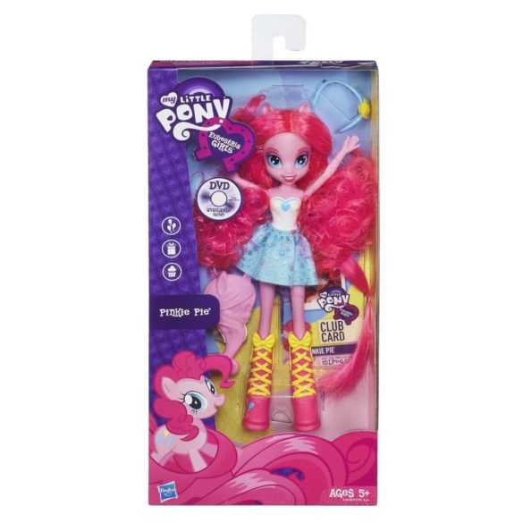 Papusa Pinkie Pie cu Perie de Par My Little Pony 5