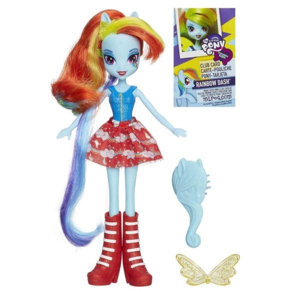 Papusa Rainbow Dash cu Perie de Par My Little Pony