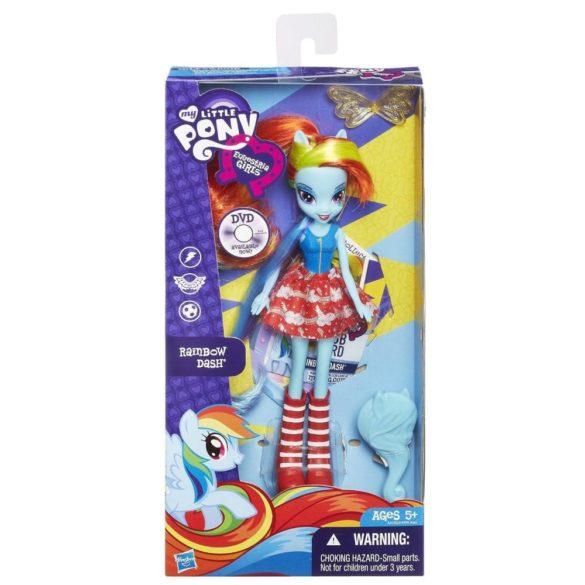 Papusa Rainbow Dash cu Perie de Par My Little Pony 4
