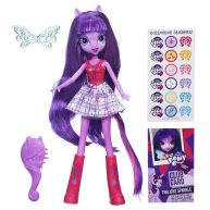 Papusa Twilight Sparkle cu Perie de Par My Little Pony