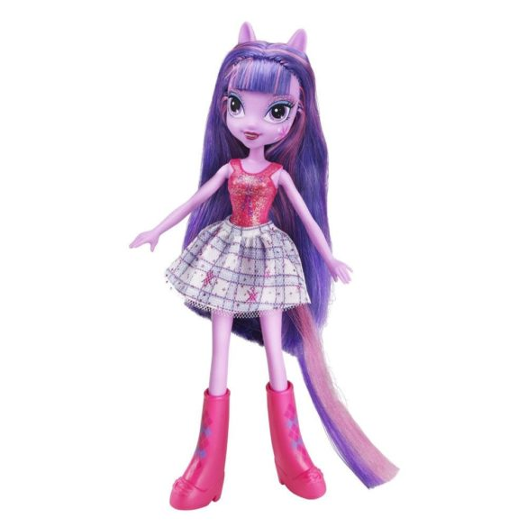 Papusa Twilight Sparkle cu Perie de Par My Little Pony 3